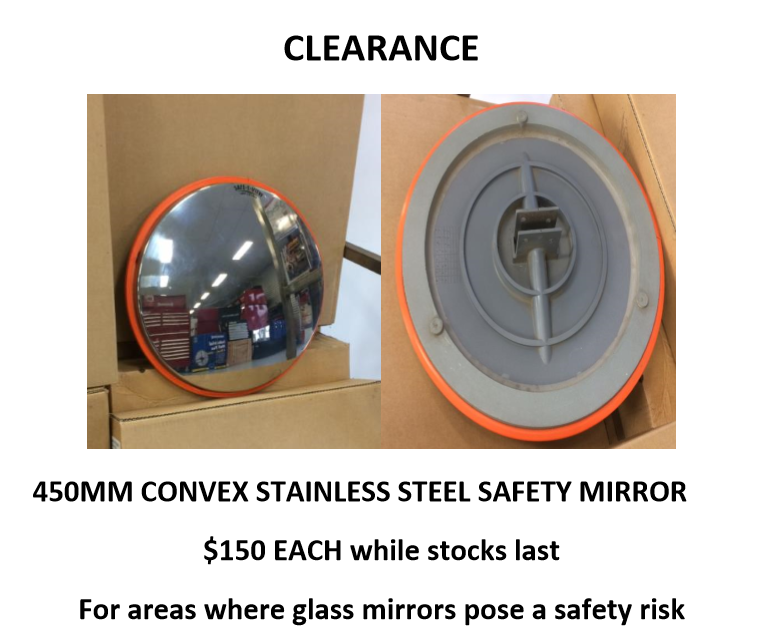 mirror clearance
